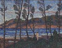 baderska vid strandkanten by rikard lindström