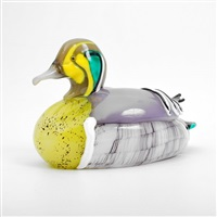 duck figurine by pino signoretto