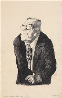 foster dulles (ministru de externe al sua în perioada lui mccarthy) by jules perahim