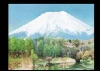 mt. fuji by hiroshi tadokoro