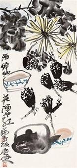花卉清供 by jia guangjian