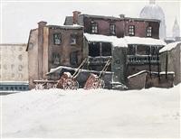 heavy snow by harry leslie smith