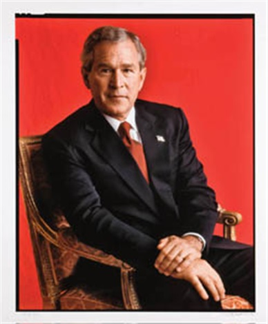 george bush by timothy greenfield sanders