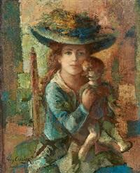 la jeune fille et la poupée by guy cambier