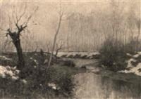 torrente d'inverno by giovanni cappa legora