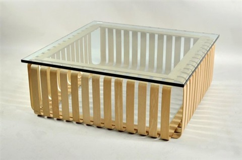 Bentwood Coffee Table By Frank Gehry