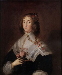 portrait of a lady by edward bower