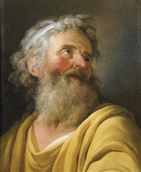 portrait of an actor by charles-antoine coypel