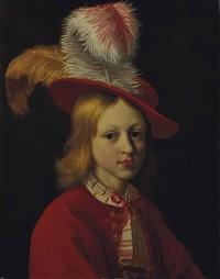 portrait d'un jeune garçon by jan van noordt