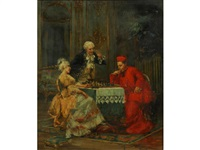 a game of chess by cipriano mannucci