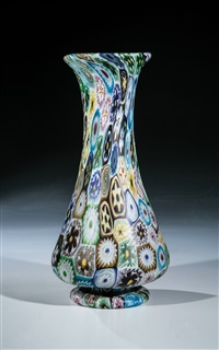 vase murrina by vetreria fratelli toso