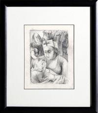 nurse by ben shahn