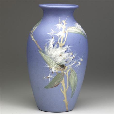 Hudson Vase Decorated By Hester Pillsbury By Weller Pottery On Artnet