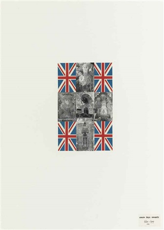 union jack knights by gilbert george