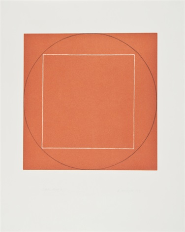 untitled (from seven aquatints) by robert mangold
