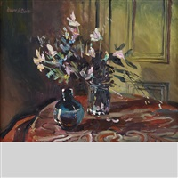 still life in the hurbutise house, westmount, que by bruce le dain
