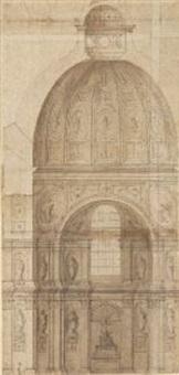 kuppelprojekt für st. michael in münchen by friedrich sustris