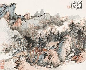 秋山图 by xiao xun