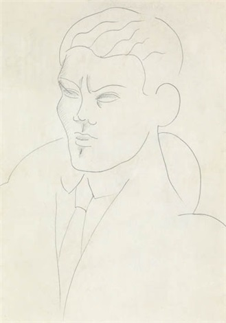 gaston longchamp by amedeo modigliani