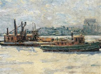 tug boats by charles walter simpson