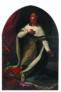 le sacre de saint-louis by nicolas guy brenet