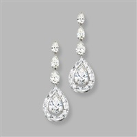 endless cut pendant-earrings by nirav modi
