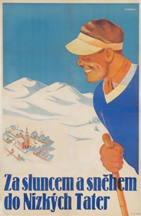 za sluncem a snehem do nizkych tater by posters: sports