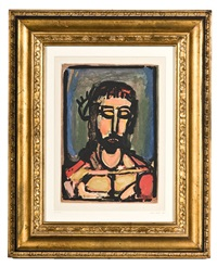 le christ by georges rouault