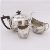 tea set (set of 3) by william hutton