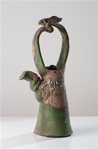 Untitled Hare Handle Teapot