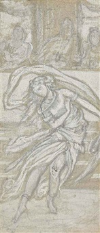 sketch of salome by lord frederick leighton