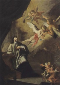 vision des heiligen nepomuk by bartholomäus altomonte