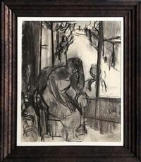 untitled - worries by ben shahn