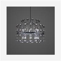 chandelier from the allianz building, munich by aloys ferdinand gangkofner