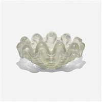 a grosse costolature bowl by ercole barovier