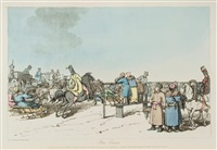 a picturesque representation of the manners, customs, and amusements of the russians by john augustus atkinson