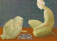 jeu de dames - pari de zobeïde by leonor fini