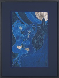 two blues two by chris ofili