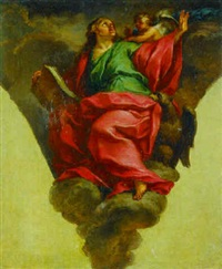 saint john the evangelist by domenico corvi