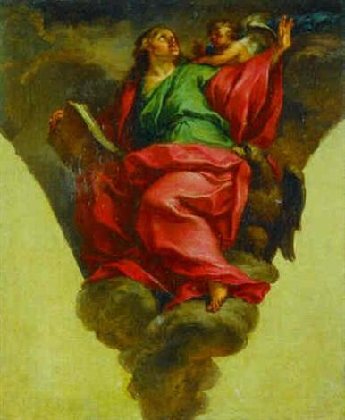 saint john the evangelist by domenico corvi