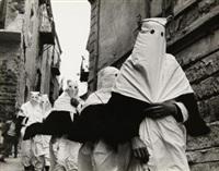 processione - il venerdì santo a collesano - palermo by ferdinando scianna