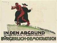 wählet bürgerlich - demokratisch by theo matejko