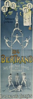 les bertrand by posters: circus