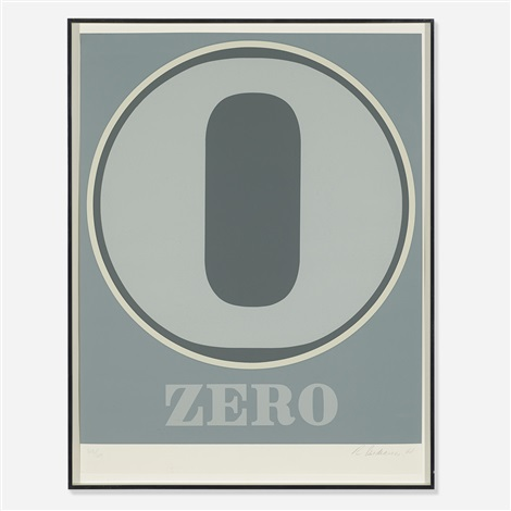 zero from numbers by robert indiana