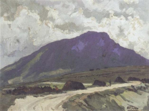 slieve more achill island by anne primrose jury
