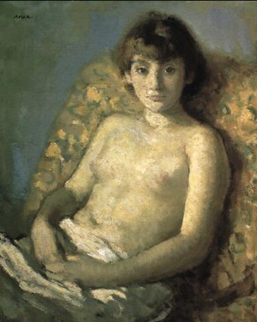 muchacha by francisco serra