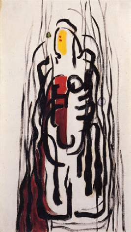 untitled by clyfford still