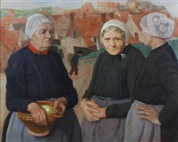 fishermen's wives by roeland koning