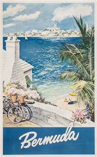 bermuda with a view of hamilton by lesnon