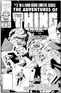 the adventures of the thing by mike mignola and joe quesada